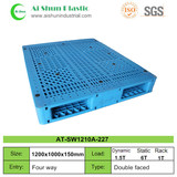 No. 227 double sides grid top plastic pallet