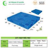 No.183 Cross Bottom Plastic Pallet