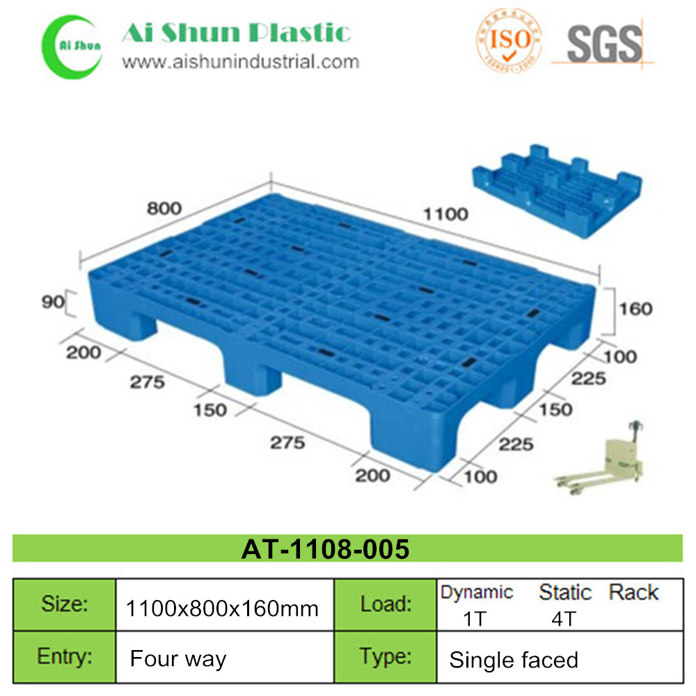 No.5 Nine Feet Plastic Pallet