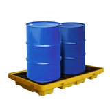 ATY-136815 Two barrels of leakage spill platform