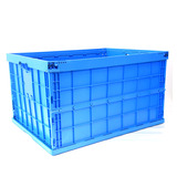 AS-806045-C1 Solid foldable plastic crate