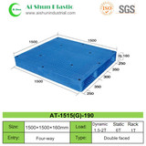No.190 Perforated Cross Bottom Plastic Pallet