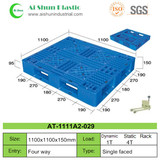 No.29 Cross Deck Single Side Plastic Pallet