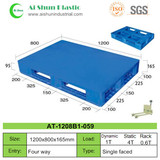 No.59 Flat Cross Deck Plastic Pallet