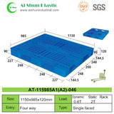 No.46 Cross Deck Plastic Pallet