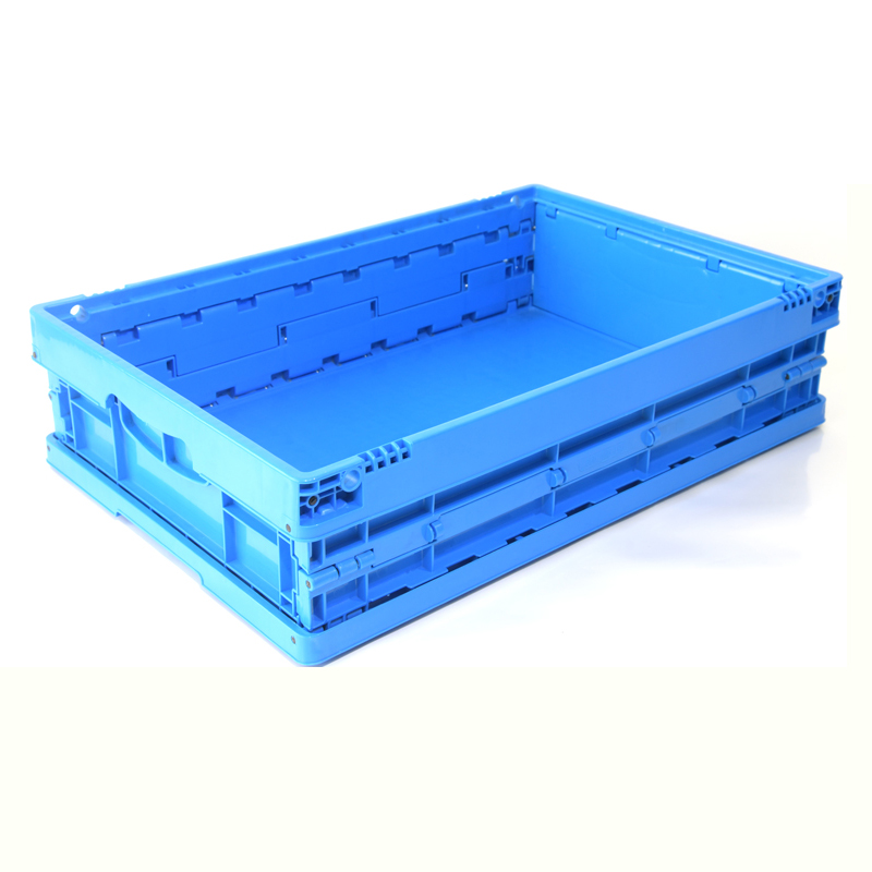 AS-604015-C Solid foldable Plastic Crate