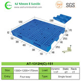 No.151 Mesh Three Skids Plastic Pallet