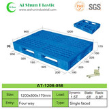 No.58 Cross Open Bottom Plastic Pallet