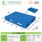 No.60 Flat Cross Deck Plastic Pallet