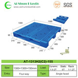 No.155 Perforated Three Skids Plastic Pallet
