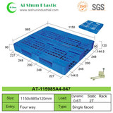No.47 Cross Deck Plastic Pallet