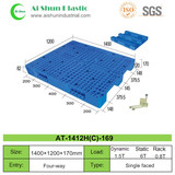 No.169 Perforated Three Skids Plastic Pallet