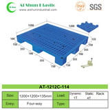No.114 Perforated Top Nine Feet Plastic Pallet