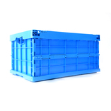 AS-604028-C1 Solid foldable Plastic Crate