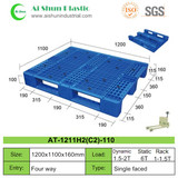 No.110 Mesh Top Rack Plastic Pallet
