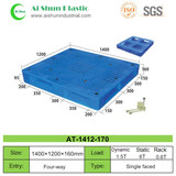 No.170 Perforated Cross Deck Plastic Pallet