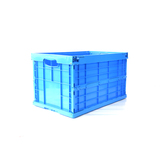 AS-604034-C1 Solid foldable plastic crate